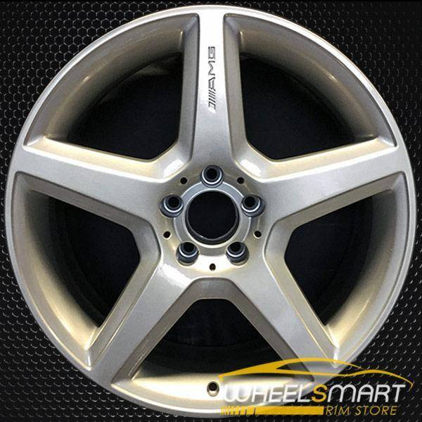 "19"" Mercedes CLS63 OEM wheel 2007-2008 Silver alloy stock rim ALY65375U20"