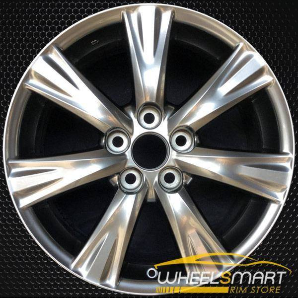 "17"" Lexus GS350 OEM wheel 2008-2011 Hypersilver alloy stock rim ALY74209U78"