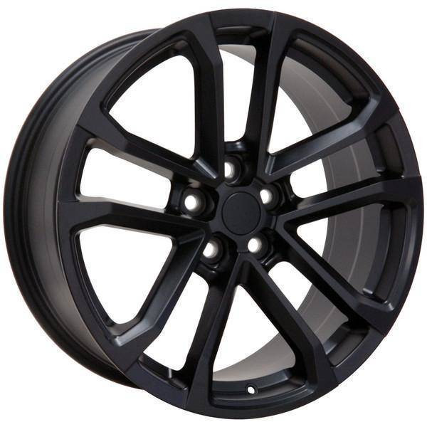 "20"" Chevy Camaro  replica wheel 2010-2018 Matte Black rims 9491666"