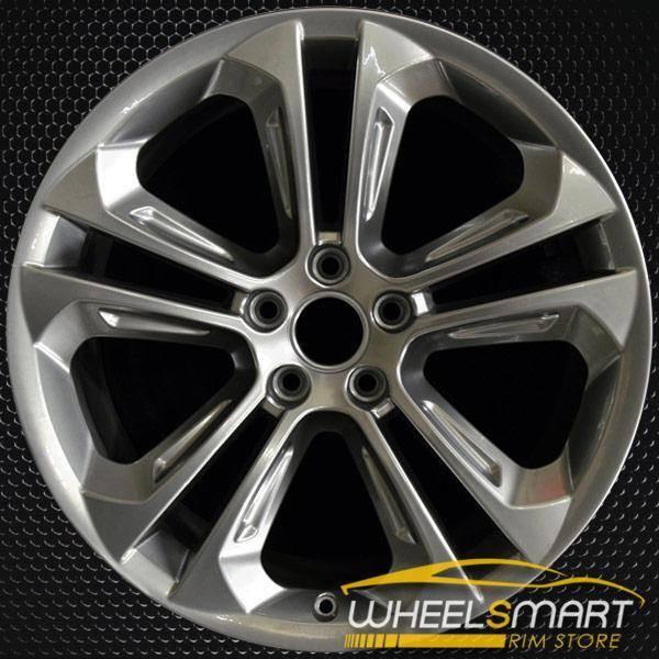 """19"""" Audi Q3 OEM wheel 2015-2018 Charcoal alloy stock rim 8U0601025AD"""