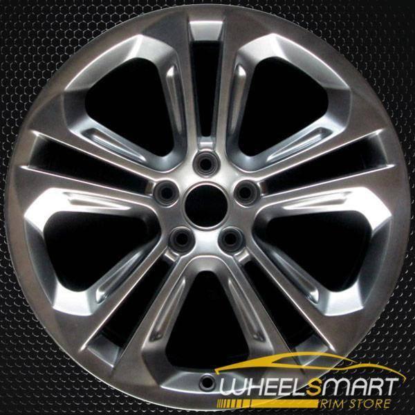 "19"" Audi Q3 OEM wheel 2015-2018 Hypersilver alloy stock rim 8U0601025AD"