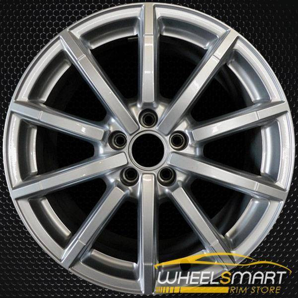 "18"" Audi A5 OEM wheel 2015-2018 Silver alloy stock rim 8T0601025BM"