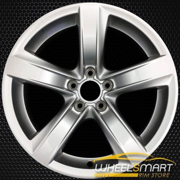 "18"" Audi A5 OEM wheel 2015-2018 Silver alloy stock rim 8T0601025CE"