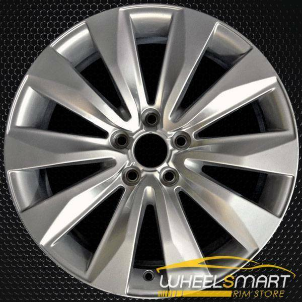 "18"" Audi A8 OEM wheel 2008-2010 Silver alloy stock rim 4E0601025BB"