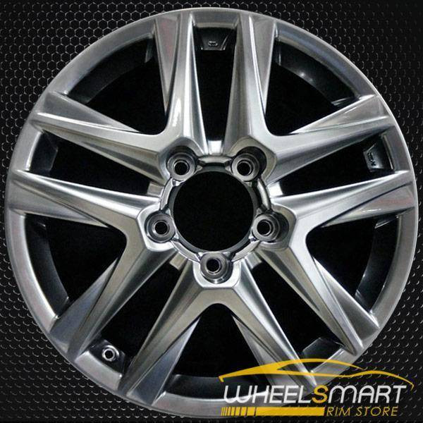 "20"" Lexus LX570 OEM wheel 2013-2015 Hypersilver alloy stock rim 4261A60060, 4261A60061"