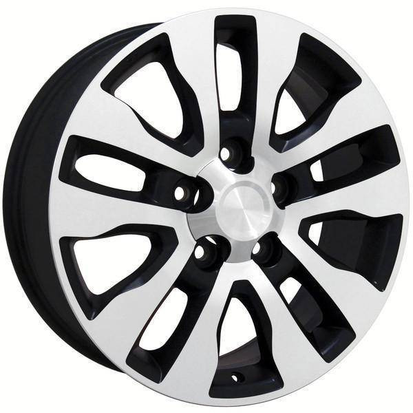 "20"" Toyota Land Cruiser replica wheel 1998-2018 Black Machined rims 9492068"