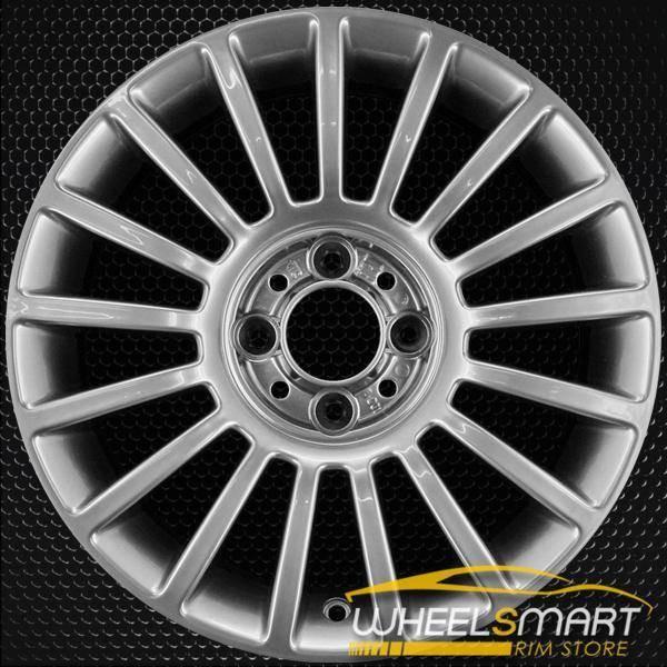 """15"""" Fiat 500 OEM wheel 2011-2018 Hypersilver alloy stock rim 68072557AA"""