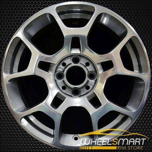 "16"" Fiat 500 OEM wheel 2011-2018 Polished alloy stock rim 1F17TRMA"