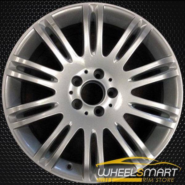 "18"" Mercedes E350 OEM wheel 2007-2009 Machined alloy stock rim 65432 ALY65432U20 2114015302"
