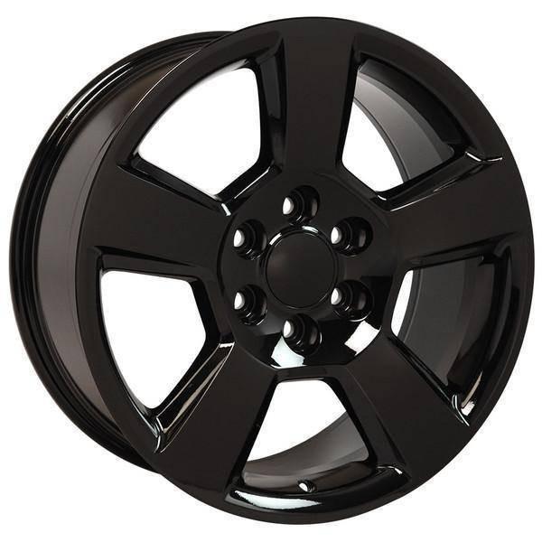 """20"""" Chevy Avalanche replica wheel 2002-2013 Black rims 9507901"""