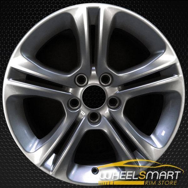 "17"" Dodge Charger OEM wheel 2015-2018 Hypersilver alloy stock rim 5PN31TRMAA"