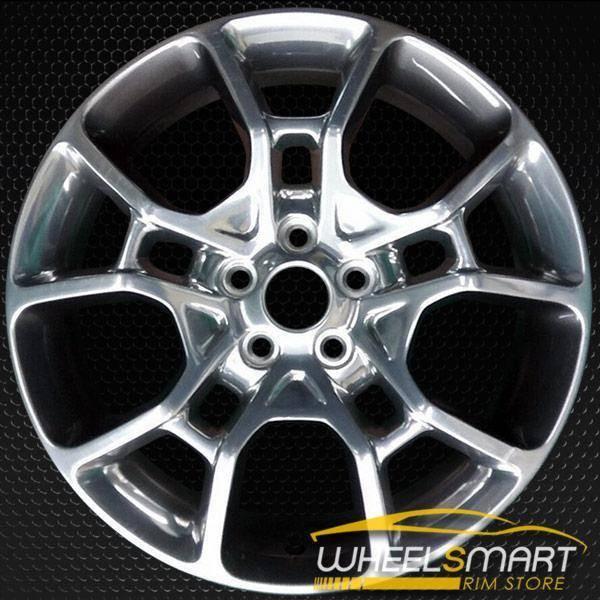 "19"" Dodge Charger OEM wheel 2015-2017 Polished alloy stock rim 5PN34TRMAA"