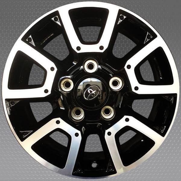"18"" Toyota Tundra OEM wheel 2014-2019 Machined And Black alloy stock rim 426110C170, 426110C200"