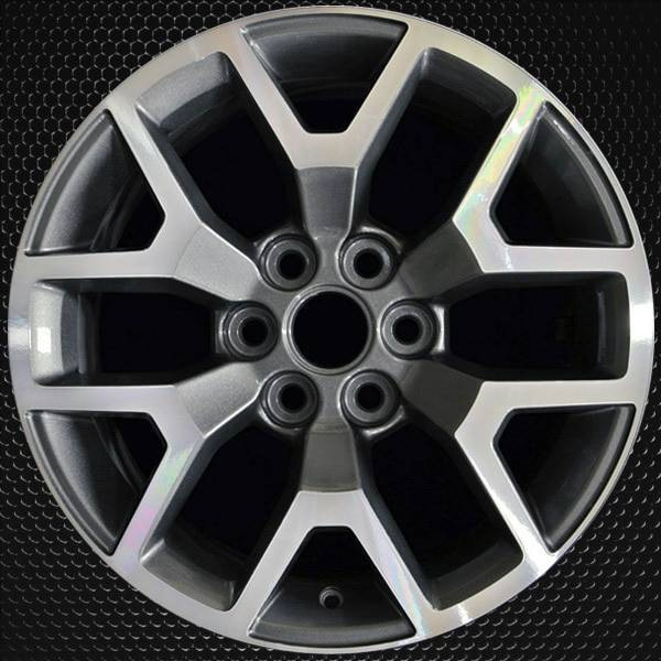 "17"" GMC Canyon OEM wheel 2015-2019 Machined alloy stock rim 23245011"