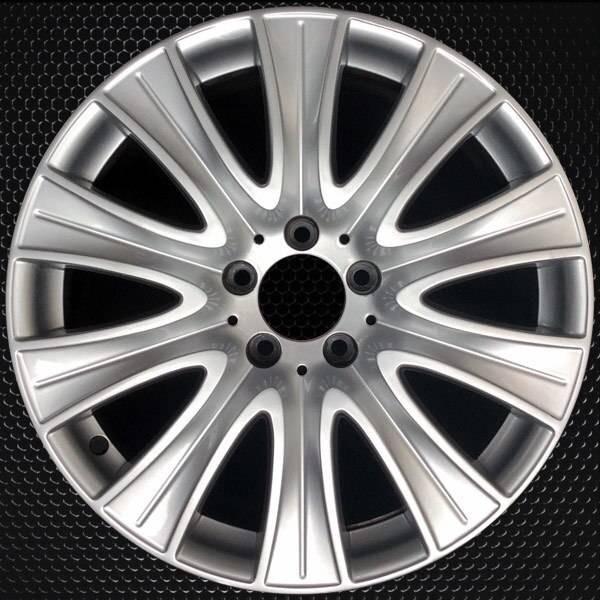 "18"" Mercedes S550 OEM wheel 2014-2016 Silver alloy stock rim 2224010902"