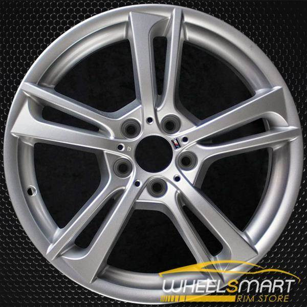 "19"" BMW X Series OEM wheel 2011-2018 Silver alloy stock rim 36117844250"