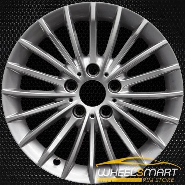 "17"" BMW 3 Series OEM wheel 2012-2019 Silver alloy stock rim 36116796241"