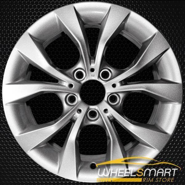 "17"" BMW X1 OEM wheel 2012-2015 Silver alloy stock rim 71595 36116789141"