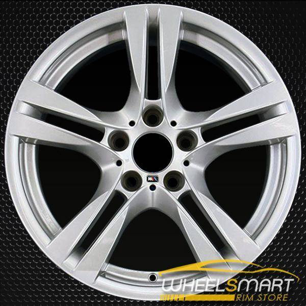 "18"" BMW X1 OEM wheel 2012-2015 Silver alloy stock rim 71599 36117842636"