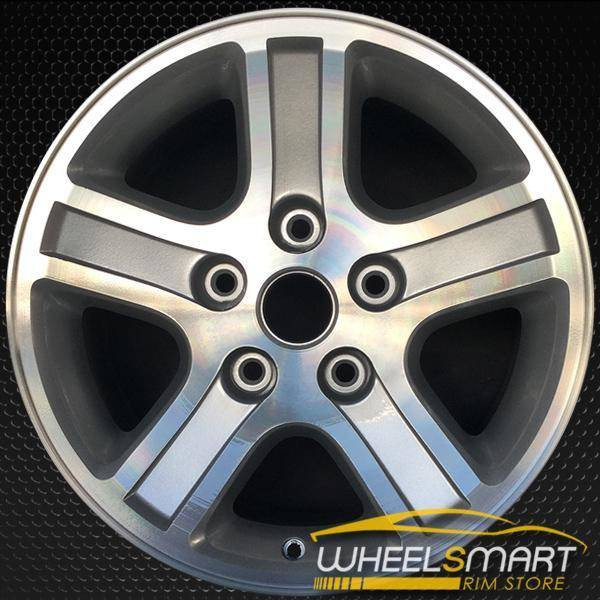 "17"" Dodge Ram 1500 OEM wheel 2006-2009 Machined alloy stock rim 0ZR76TRMAA"