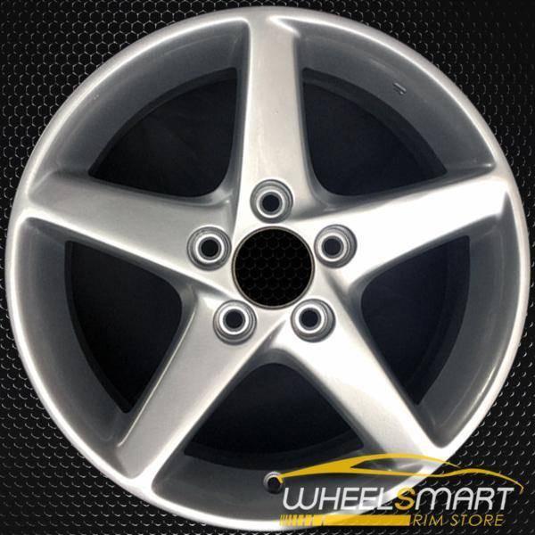"""16"""" Acura RSX OEM wheel 2002-2004 Silver alloy stock rim 6801831, 42700S6MA02ZA"""