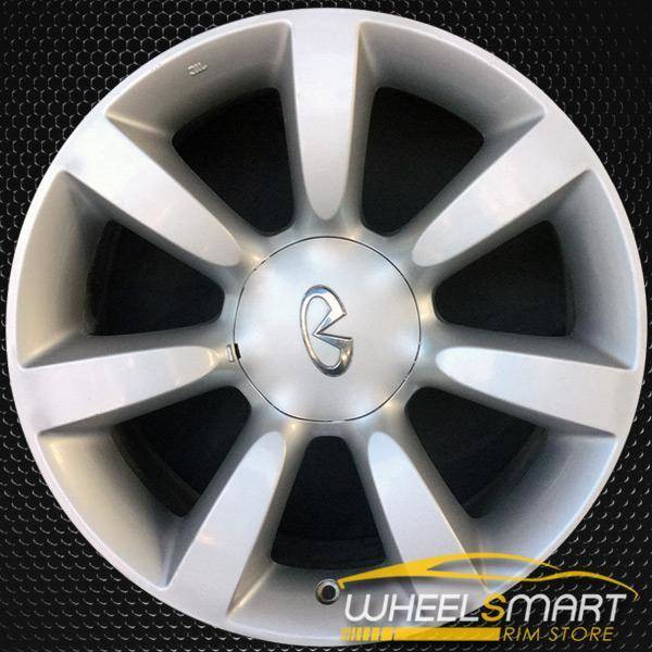 "18"" Infiniti FX35 OEM wheel 2003-2005 Silver alloy stock rim 40300CG026"
