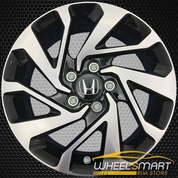"16"" Honda Civic OEM wheel 2016-2019 Machined alloy stock rim 42700TBAA71,42700TBGA81"