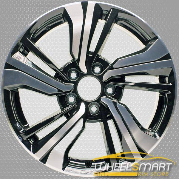 "17"" Honda Civic OEM wheel 2016-2019 Black alloy stock rim 42700TBAA81 ,42700TBAA82"
