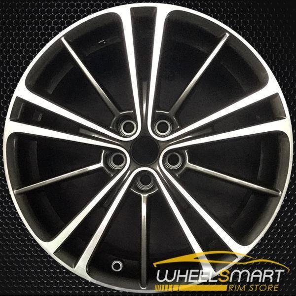 "17"" Scion FRS OEM wheel 2013-2016 Machined alloy stock rim 28111CA010, 28111CA080"