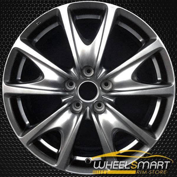 "18"" Infiniti G Series OEM wheel 2009-2013 Hypersilver alloy stock rim D0300JU44A"