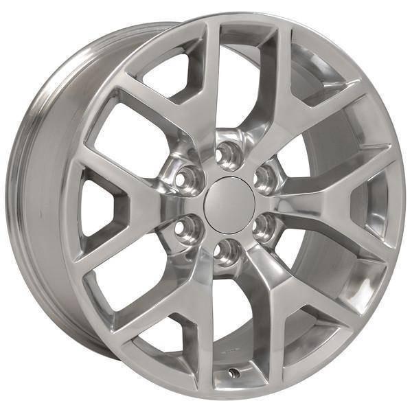 """22"""" Chevy C2500 replica wheel 1988-2000 Polished rims 9507293"""