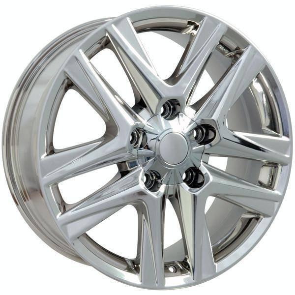 "20"" Toyota Sequoia replica wheel 2008-2018 Chrome rims 9506472"