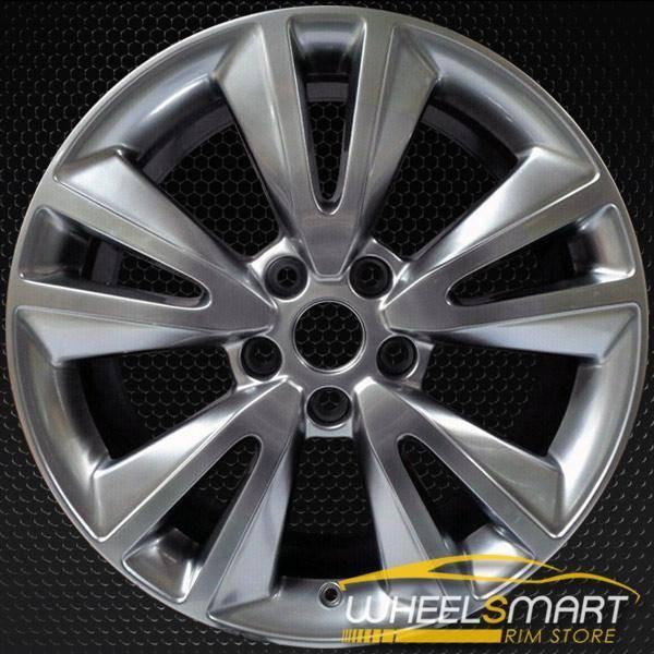 "20"" Dodge Durango OEM wheel 2011-2014 Hypersilver alloy stock rim 1TE70GSAAA, 1TE70TRMAB"