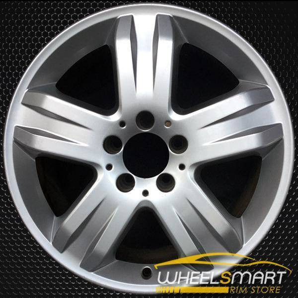 "17"" Mercedes ML350 OEM wheel 2005 Silver alloy stock rim A1634013902, 1634013902"