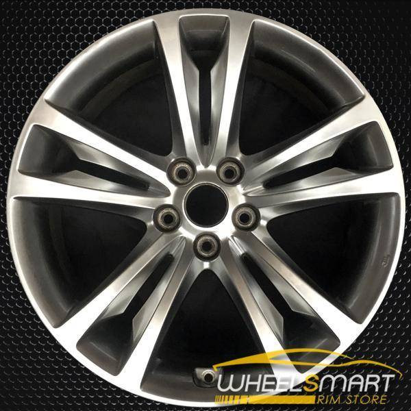 "19"" Hyundai Genesis OEM wheel 2009-2012 Hypersilver alloy stock rim 529102M130, 529102M110"