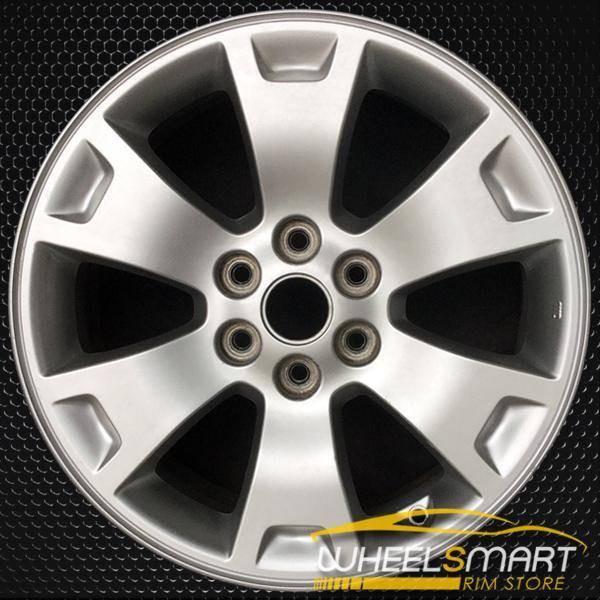 "17"" Kia Borrego OEM wheel 2009-2011 Silver alloy stock rim 529102J150"
