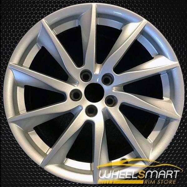 "18"" Jaguar F Type OEM wheel 2014-2019 Silver alloy stock rim C2P18511"