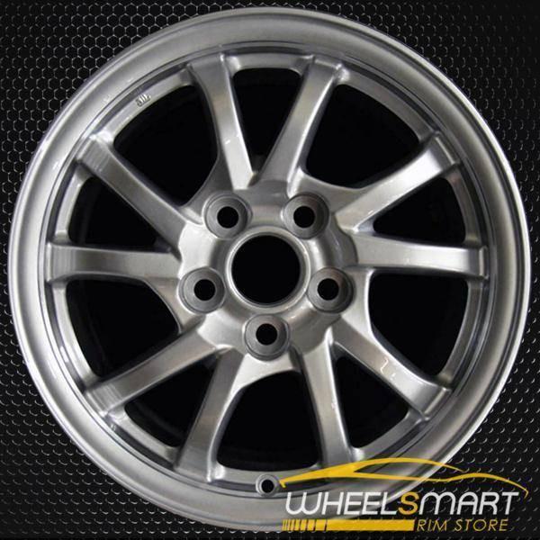 "16"" Toyota Prius OEM wheel 2012-2018 Silver alloy stock rim 4261147230 , 4261147240"