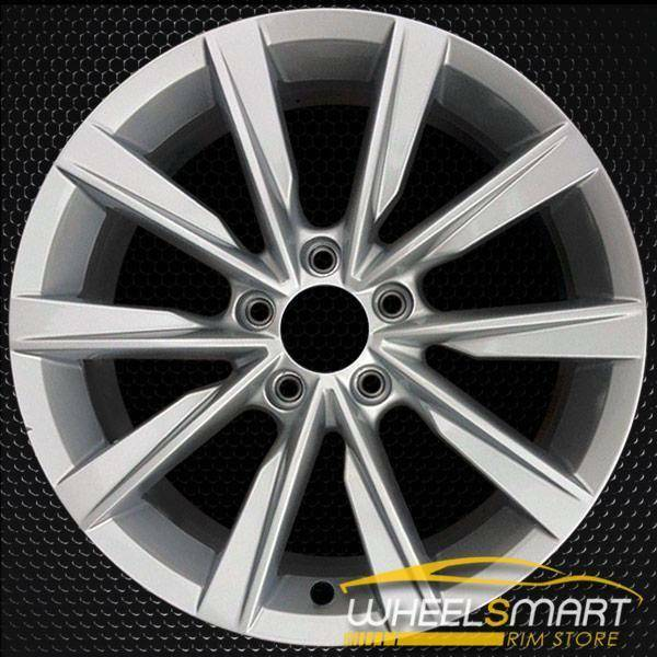 """17"""" Volkswagen VW Beetle OEM wheel 2012-2019 Silver alloy stock rim 5N0601025AJ8Z8"""