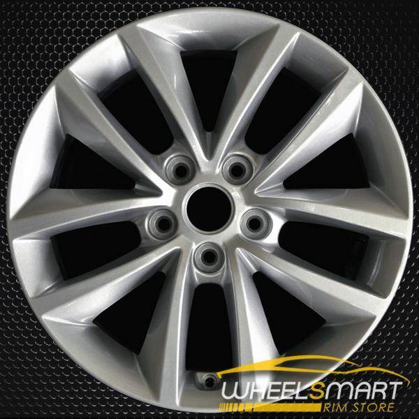 "17"" Kia Sorento OEM wheel 2016-2018 Silver alloy stock rim 52910C5110, 52910C5100"