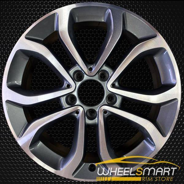 "17"" Mercedes C300 OEM wheel 2015-2018 Machined alloy stock rim 2054010200"