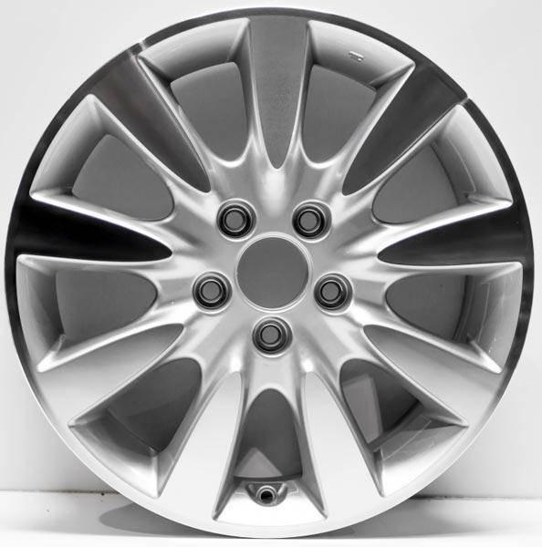 "17"" Honda Accord Replica wheel 2005-2008. Machined replacement for rim 63919"