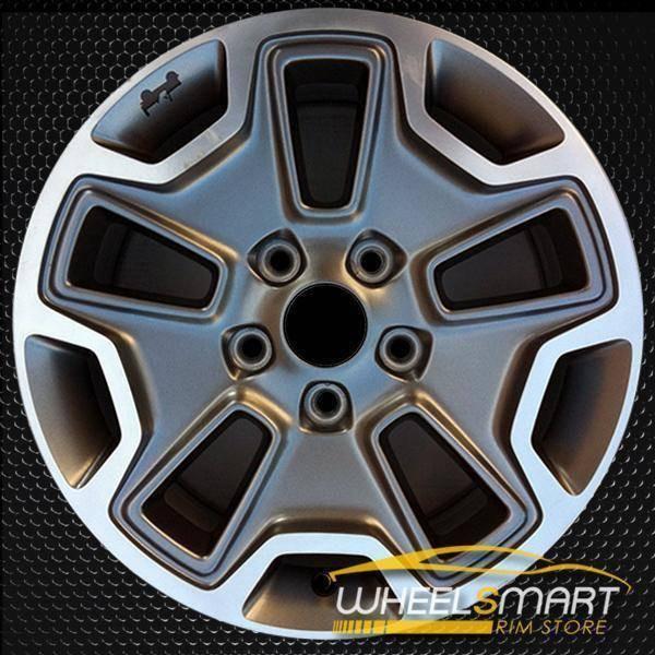 """17"""" Jeep Wrangler oem wheel 2013-2018 Black alloy stock rim 9118"""