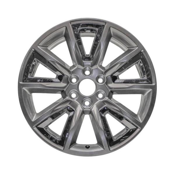5696u78 Chevy Silverado replacement wheels Hypersilver rims  22905550
