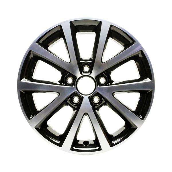 "16x6.5"" Volkswagen Jetta replica wheels 2010-2018 rim ALY70006U45N"