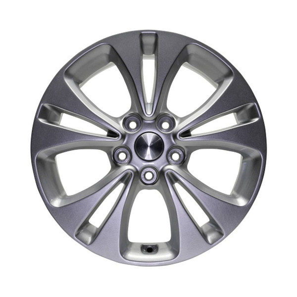 17 Kia Soul replica wheels 2014-2016 Silver rim 74693