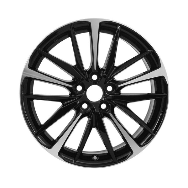 17 Toyota Camry replica wheels 2018-2020 Machined rim 75222