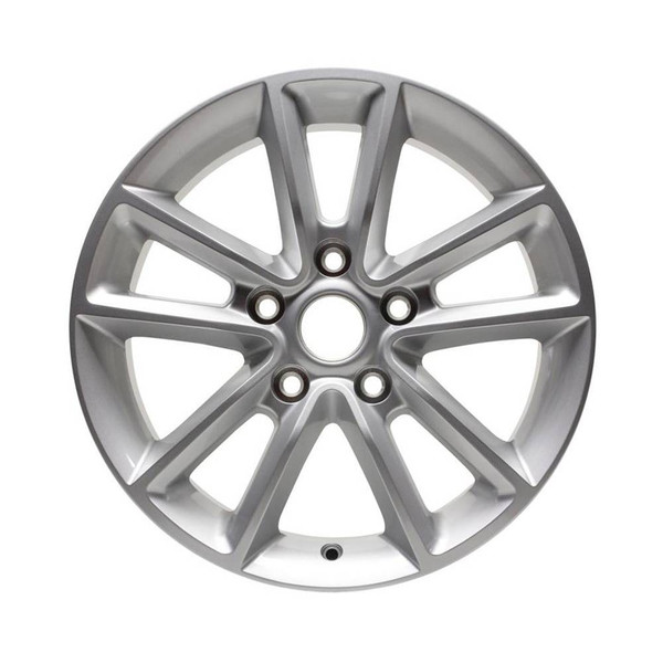 17 Dodge Grand Caravan replica wheels 2011-2019 Silver rim 2399