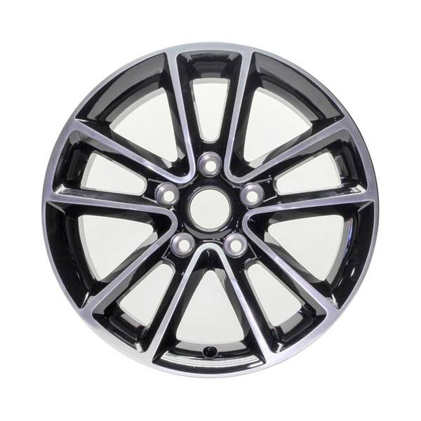 17 Dodge Grand Caravan replica wheels 2011-2019 Polished rim 2399