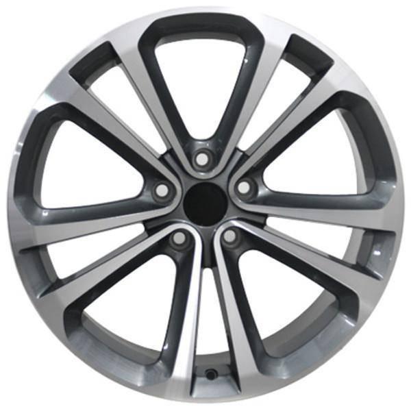 "18"" Volkswagen VW GTI replica wheel 2006-2018 Machined Gunmetal rims 9457547"